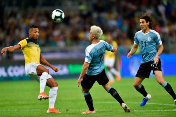 Kết quả Uruguay vs Ecuador: Tấm thẻ đỏ oan nghiệt