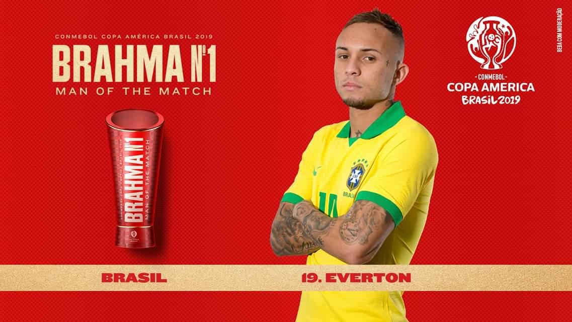 Everton Soares quá hay khiến Brazil nhanh chóng quên Neymar