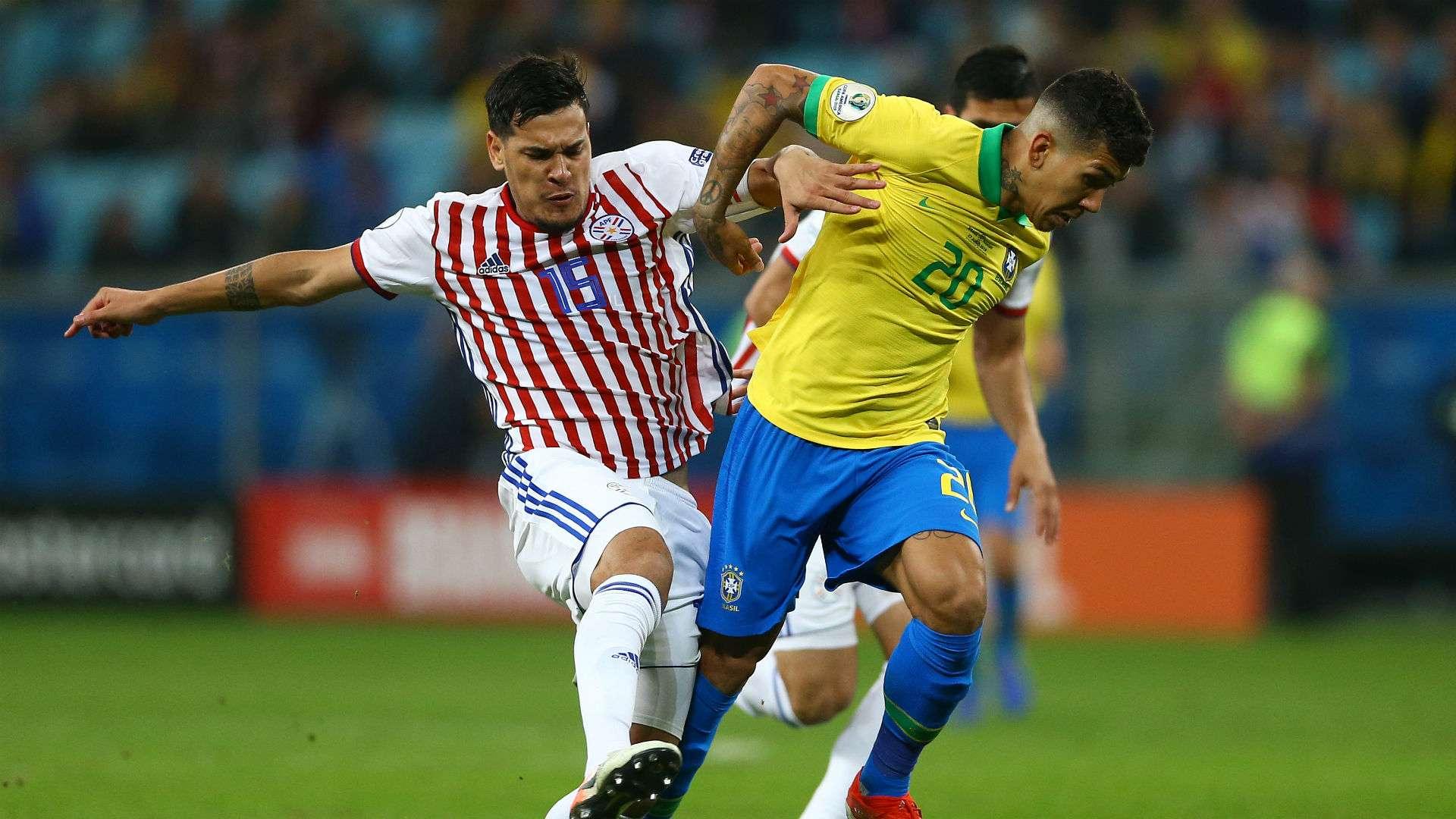 Gabriel Jesus giải cứu Roberto Firmino ở tứ kết Copa America 2019