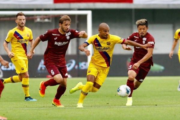 Vissel Kobe 0-2 Barcelona: Griezmann lu mờ trước sao trẻ Carles Perez