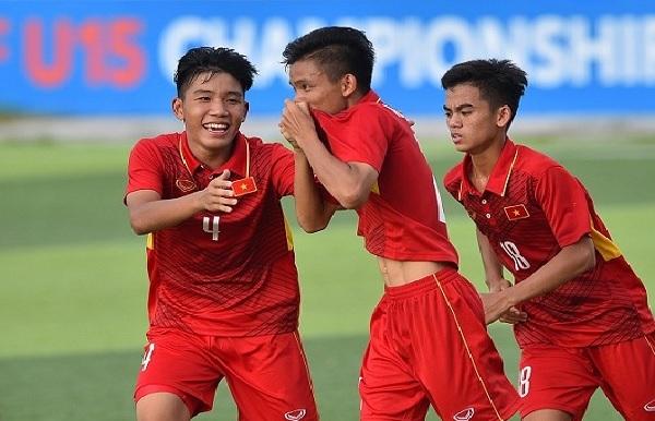 U15 Việt Nam 3-1 U15 Philippines: Giành trọn 3 điểm