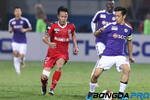Bình Dương 0-1 Hà Nội FC: Văn Quyết lập công giúp đội khách có lợi thế lớn