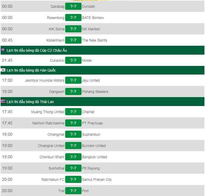 Lịch thi đấu bóng đá AFC Cup hôm nay 31/7: Chung kết Bình Dương vs Hà Nội FC