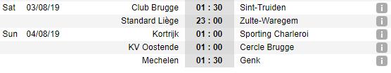 Lịch thi đấu Công Phượng vòng 2 giải VĐQG Bỉ: Club Brugge vs Sint Truidense