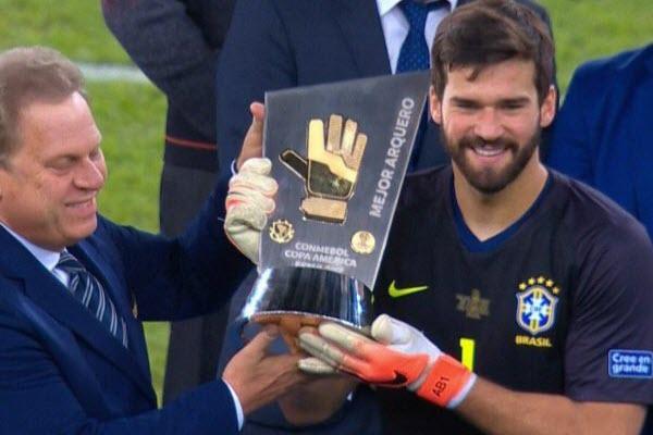 Brazil thâu tóm mọi danh hiệu tại Copa America 2019