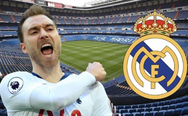 Christian Eriksen sẽ tới Real Madrid sau khi dự bị trận Tottenham 3-1 Aston Villa?