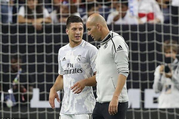 Luka Jovic đối mặt với tương lai bất ổn tại Real Madrid