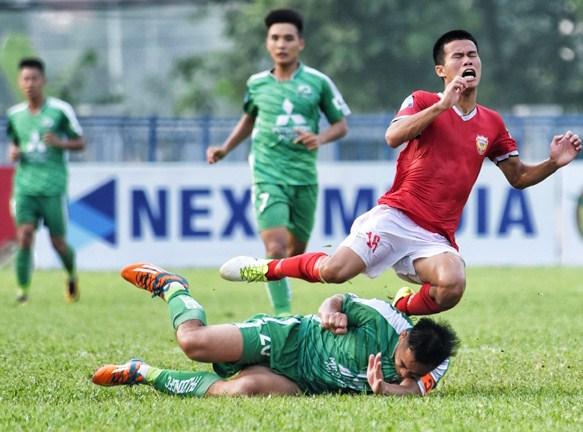 Hồng Lĩnh Hà Tĩnh 3-0 Phù Đổng: Định đoạt trận đấu trong 5 phút