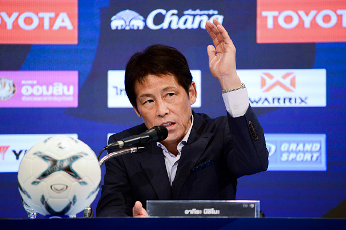 Nội bộ ĐT Thái Lan vẫn rối ren vì tân HLV Akira Nishino