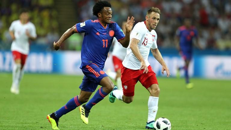 Tường thuật Ba Lan vs Colombia (FT 0-3). Đại bàng gẫy cánh.